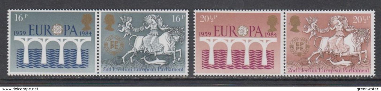 Europa Cept 1984 Great Britain 4v  (complete Set)  ** Mnh  (45111) - Europa-CEPT