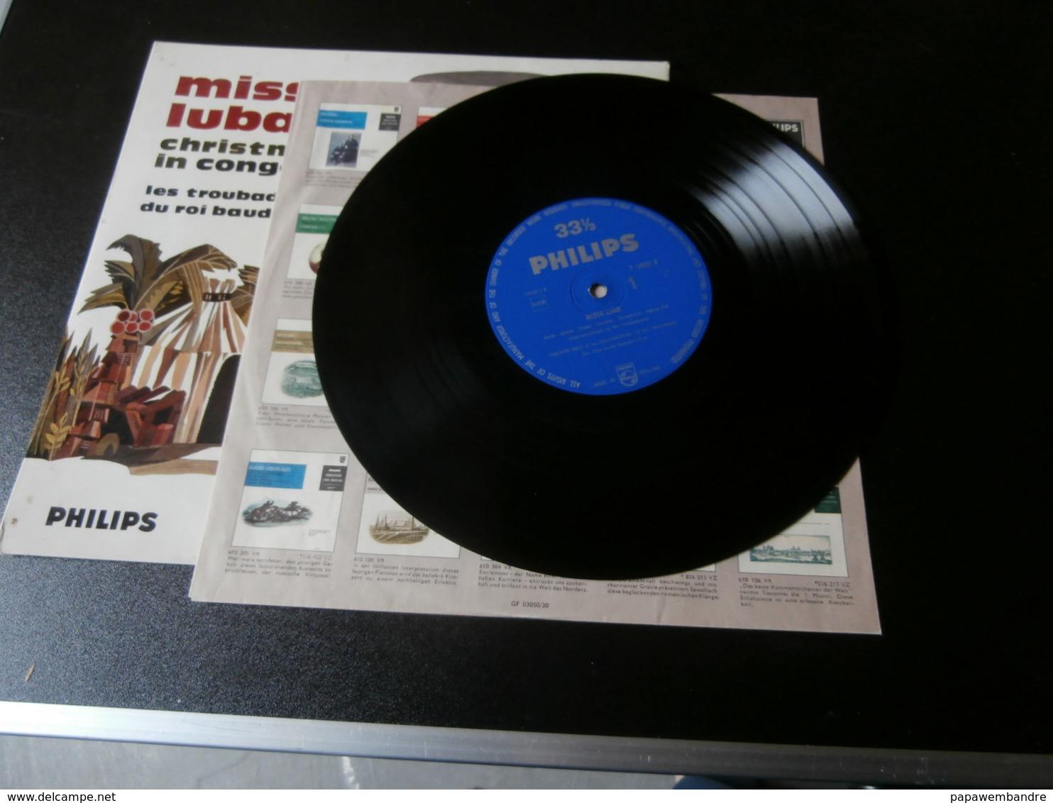 LP Missa Luba And Christmas In Congo (Les Troubadours Du Roi Baudouin) G Haazen - Chants Gospels Et Religieux