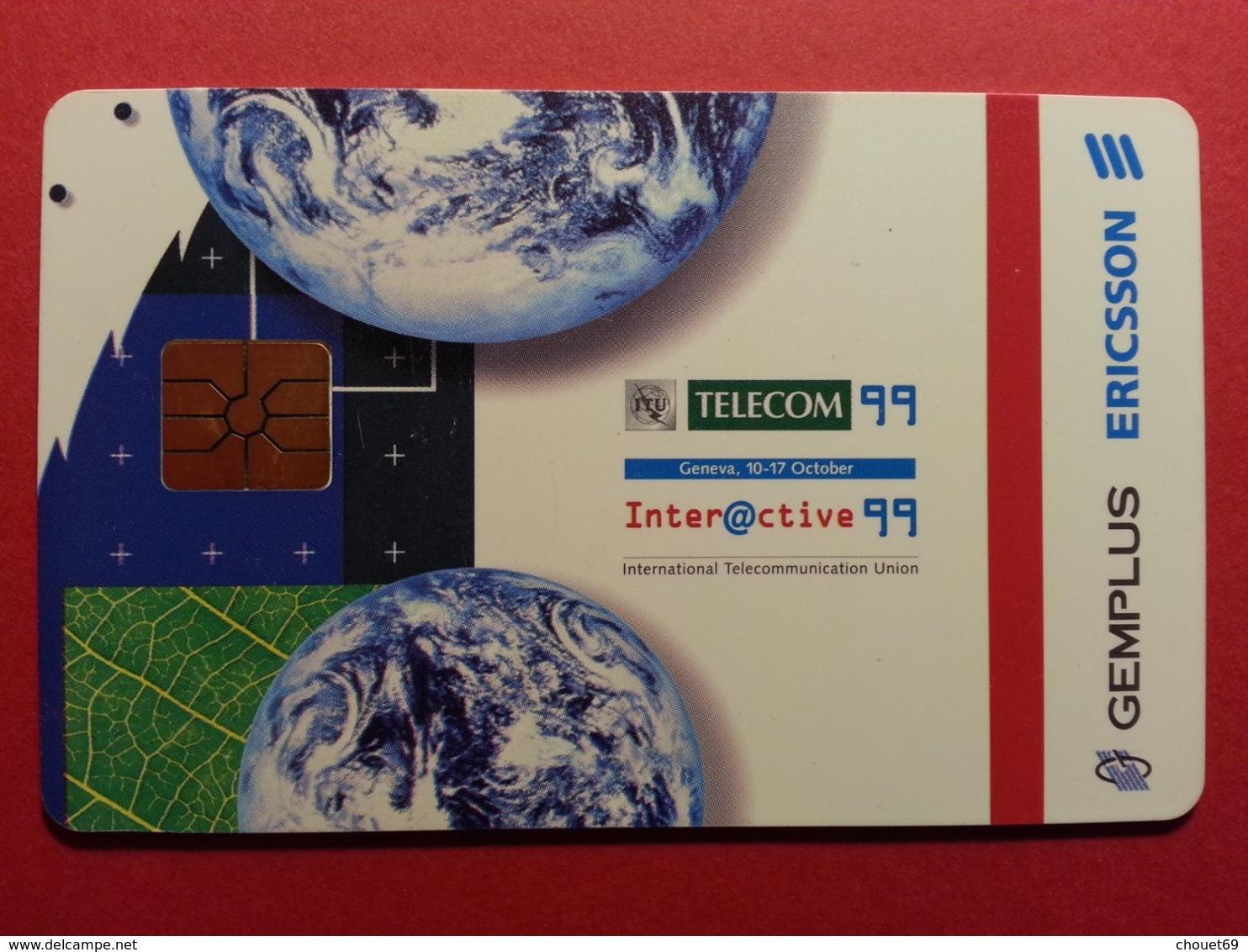DEMO TEST GEMPLUS ERICSSON TELECOM 99 Geneva INTERACTIVE (BF1217 - Telefonkarten