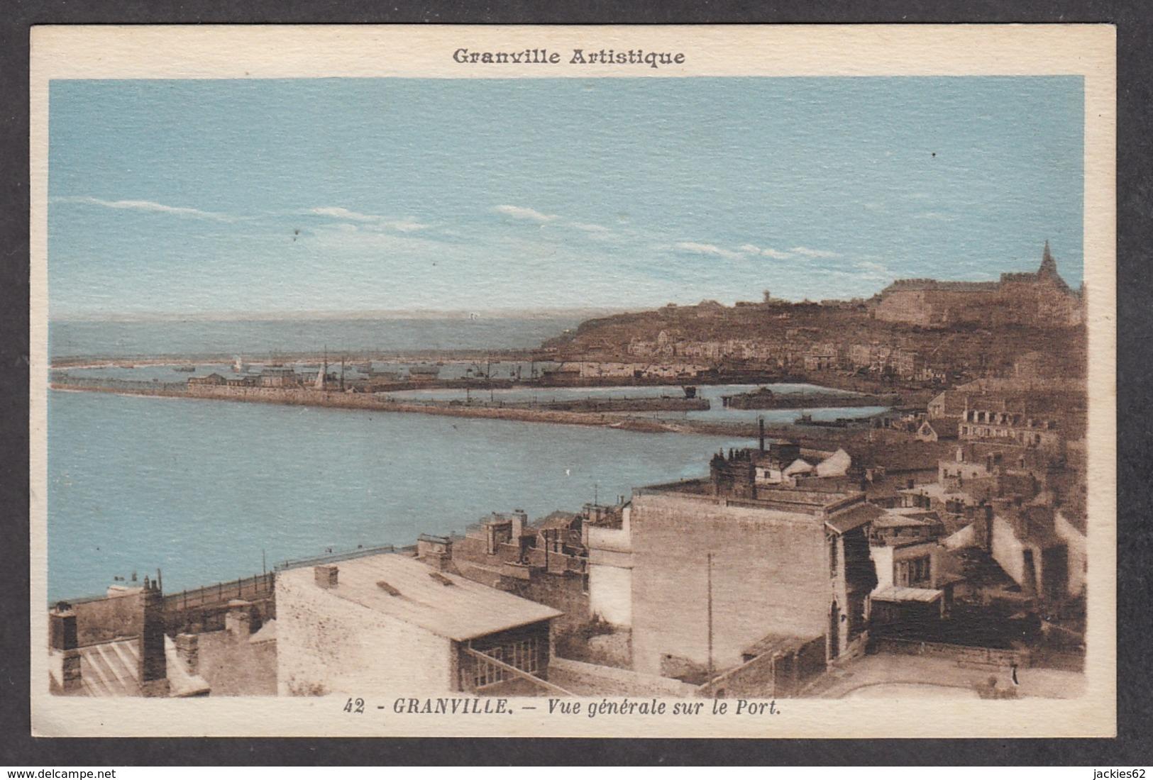 101296/ GRANVILLE, Vue Générale Sur Le Port - Granville