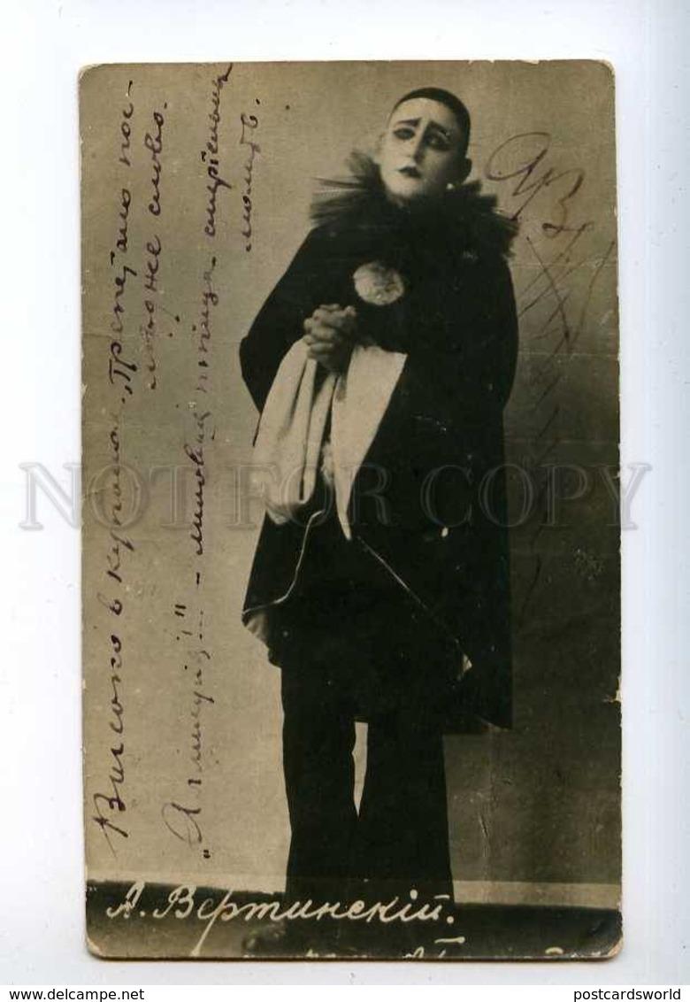 225833 RUSSIA Singer Alexander Vertinsky Rare Autograph Photo - Opera