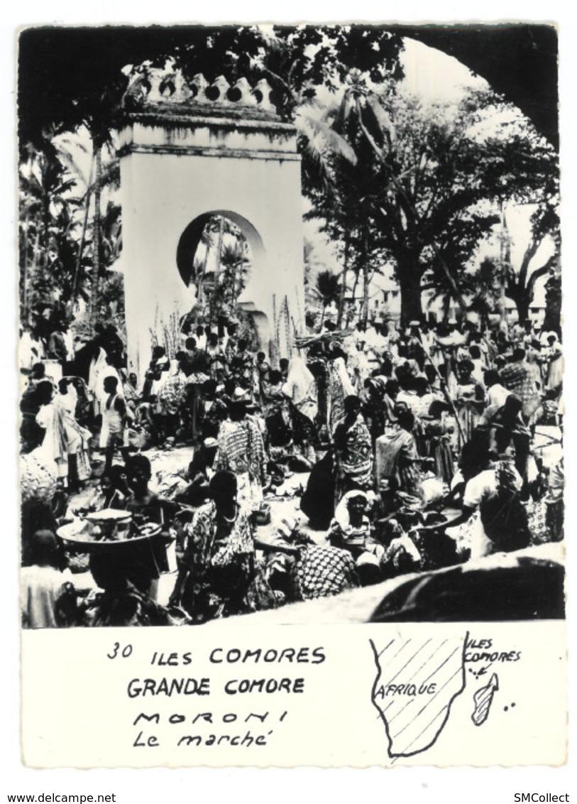 Comores, Grande Comore. Moroni, Le Marché (GF852) - Comoren