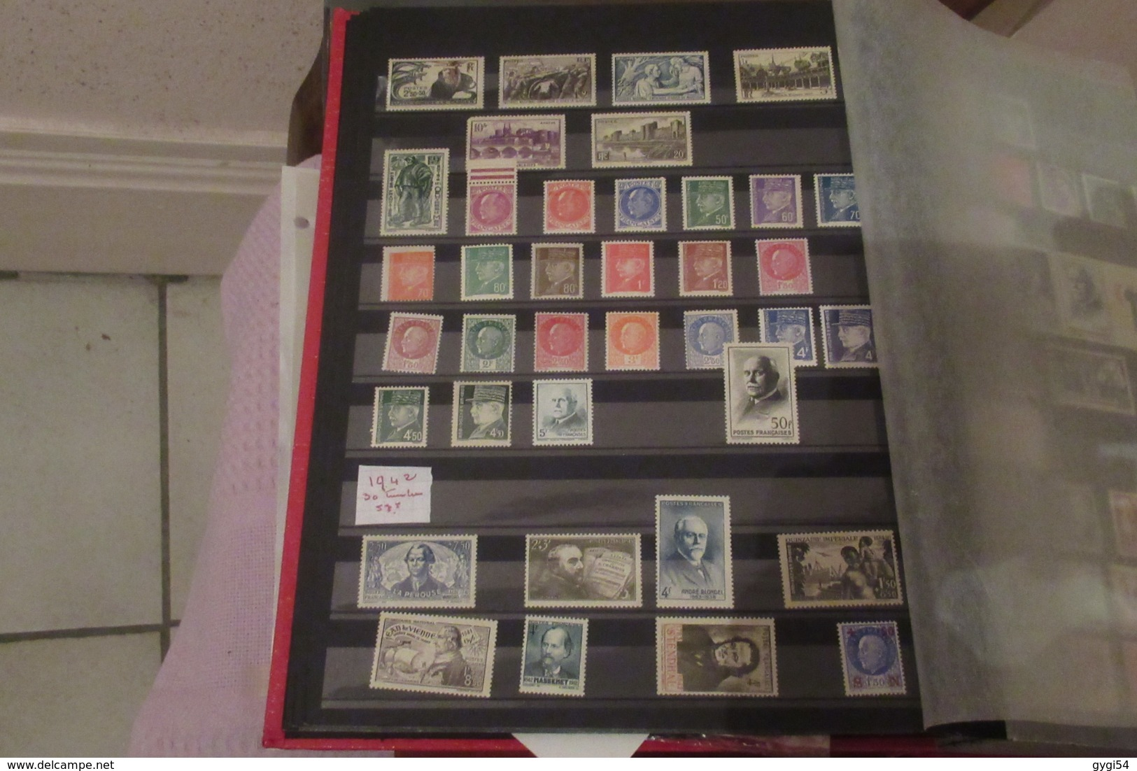 France Saint Pierre Et Miquelon  ONU, 3 Classeurs  1945,  65 Scans - Collections (en Albums)
