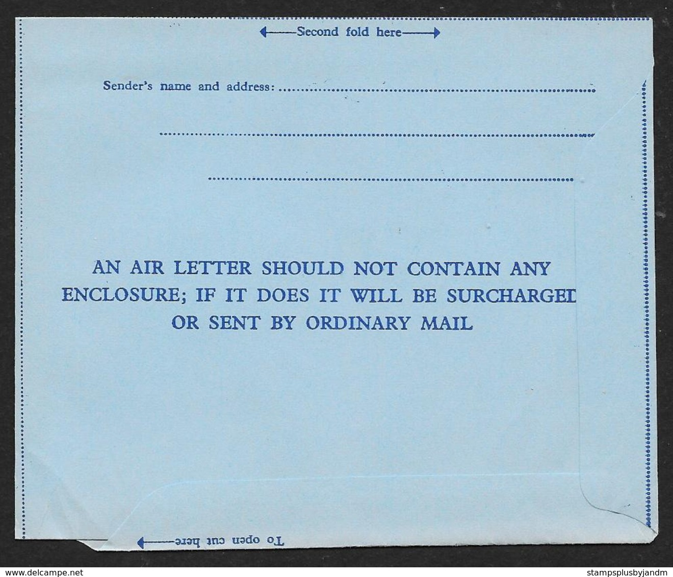 RHODESIA & NYASALAND Aerogramme Postage Paid C1950-1960s Cancel To USA! STK#X21341 - Rhodesia & Nyasaland (1954-1963)