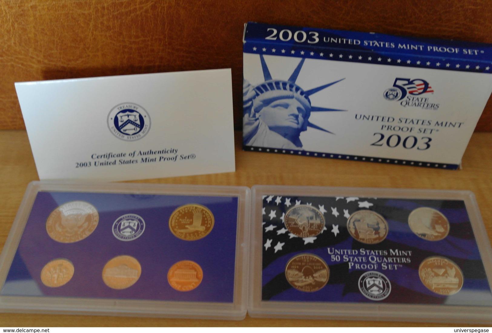 Coffret BU USA - 2003 - Emissioni Federali