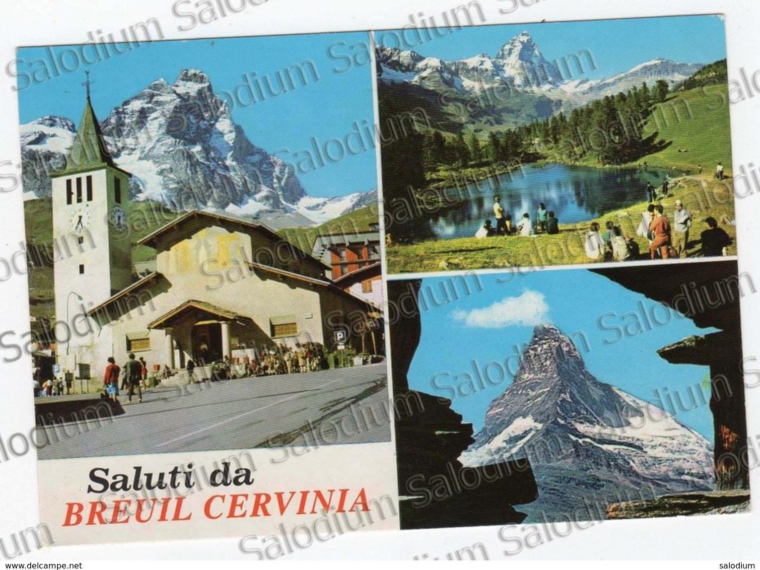 Saluti Da BREUIL CERVINIA - Valle D'aosta - Unclassified