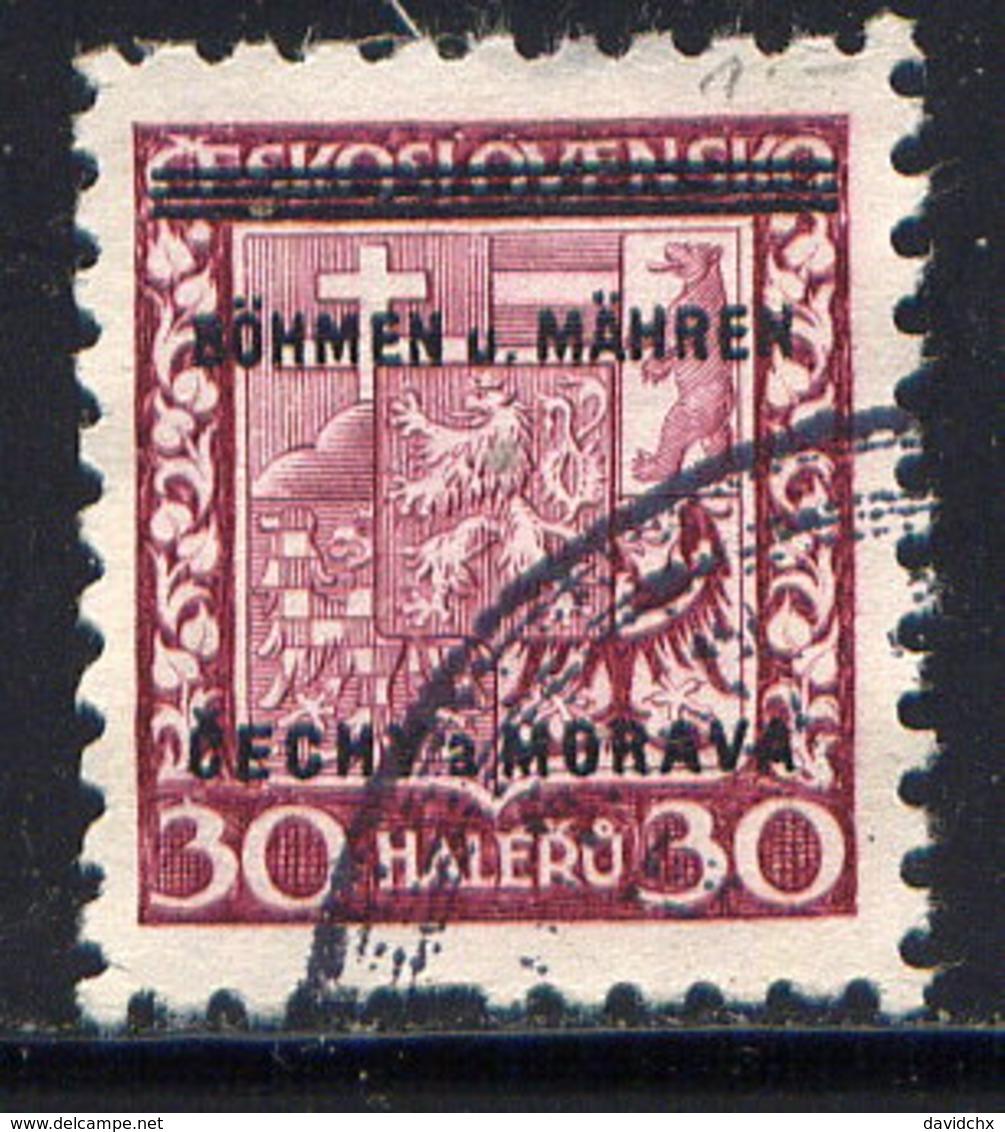 CZECHOSLOVAKIA (BOHEMIA AND MORAVIA), NO. 5 - Used Stamps