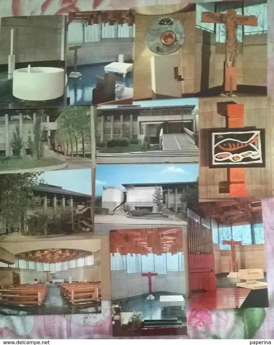 12 CARTOLINE BOLOGNA CHIESA SAN PIO X   (88) - Cartoline