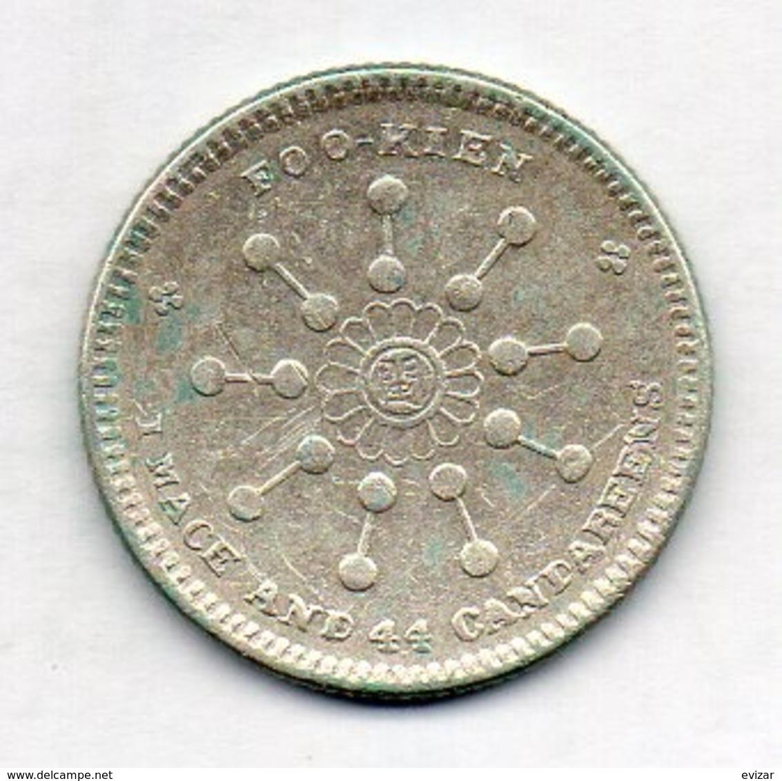 CHINA - FUKIEN PROVINCE, 20 Cents, Silver, Year 1911, KM #377 - Cina