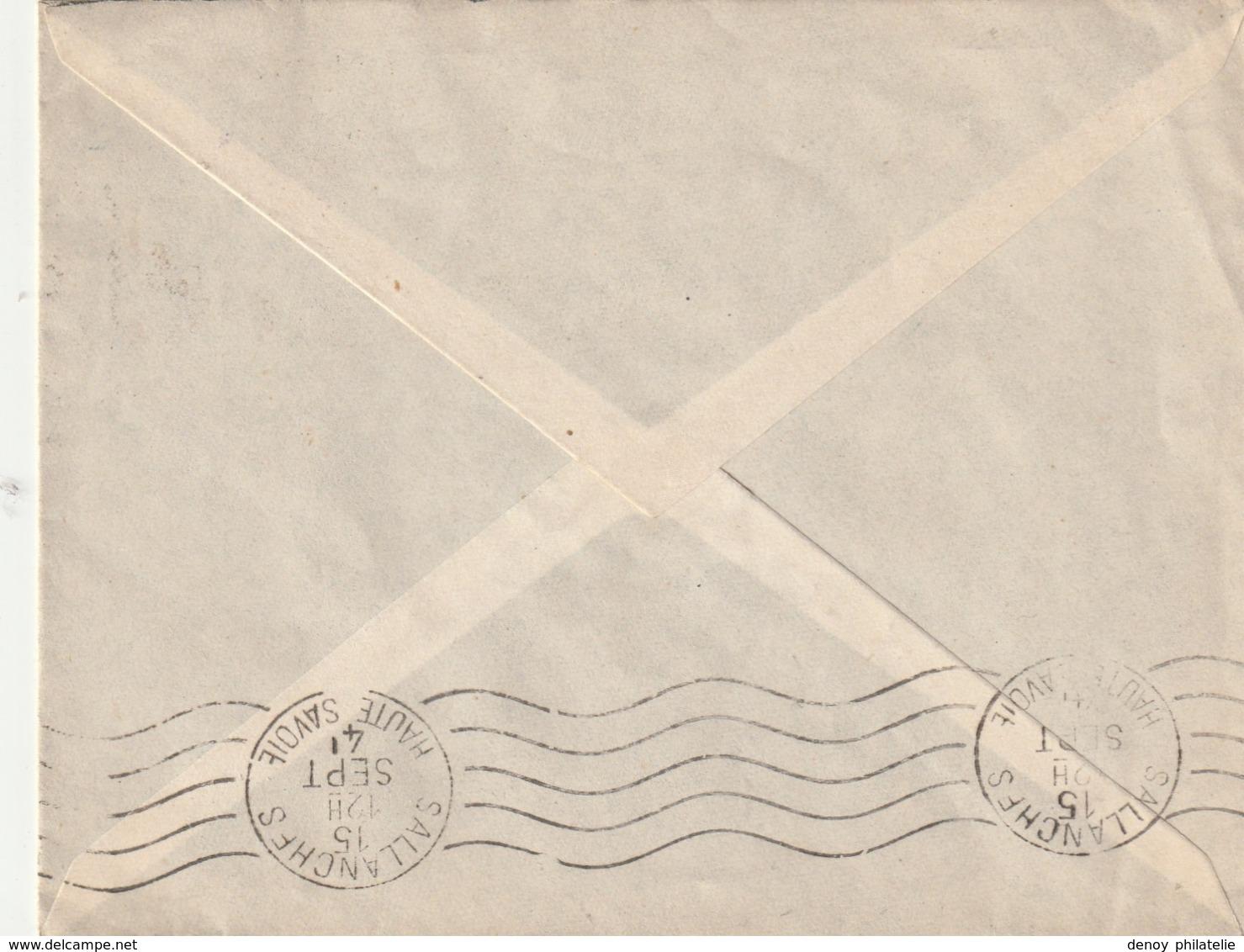 France Lettre Illustrée Du Chantier De Jeunesse N° 35 Labrugriere Tarn RRR - Postmark Collection (Covers)