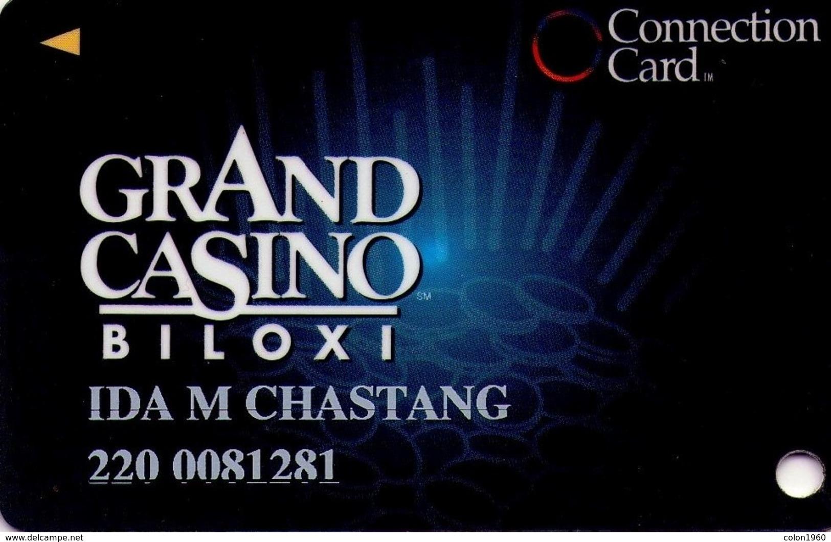 TARJETA DE CASINO - CASINO CARD. GRAND CASINO BILOXI. 008. - Casino Cards