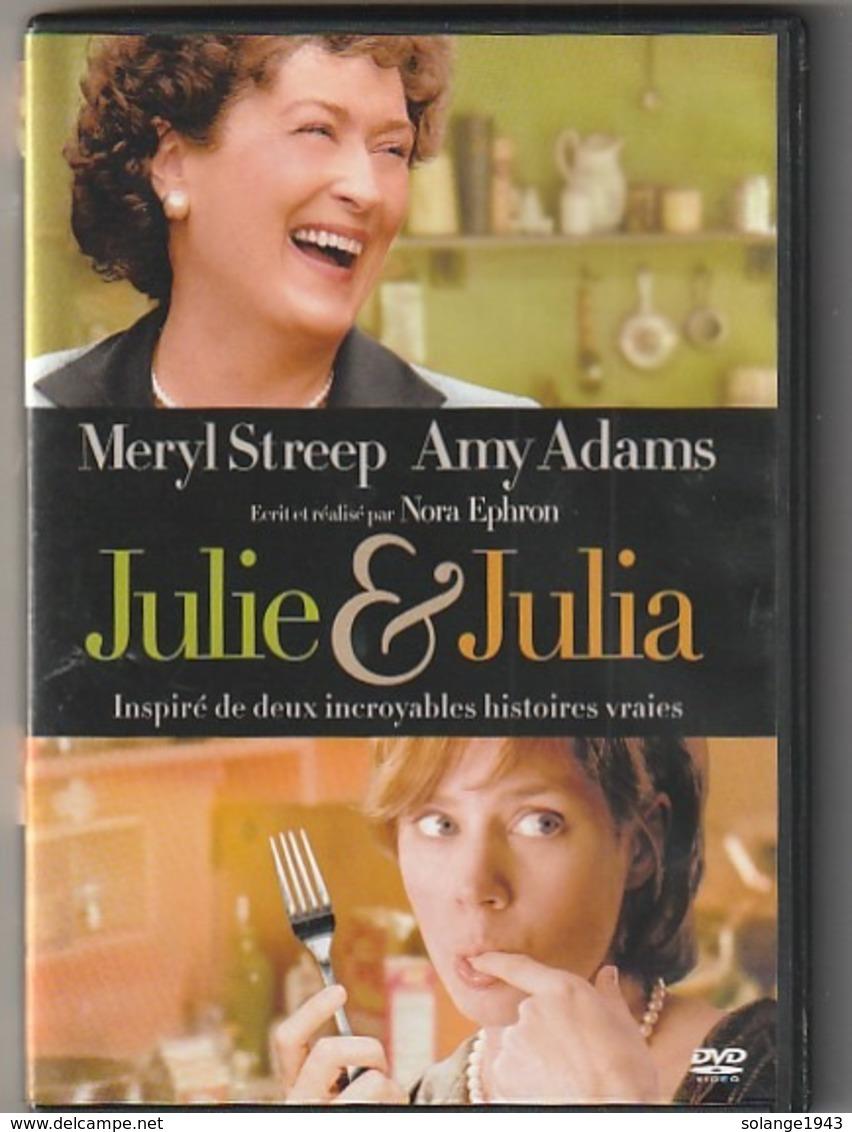 Dvd  JULIE ET JULIA  Avec Meryl Street  Etat: TTB    Port 110 Gr Ou 30 Gr - Komedie