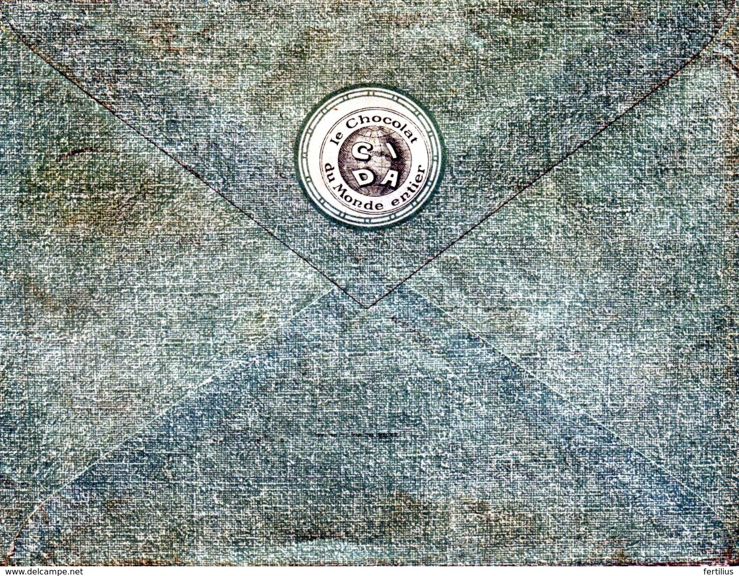 BOIS D'HAINE, Chocolaterie Cida / LSC De 1929 > Armée Du Rhin à Trêves TB - Postmark Collection
