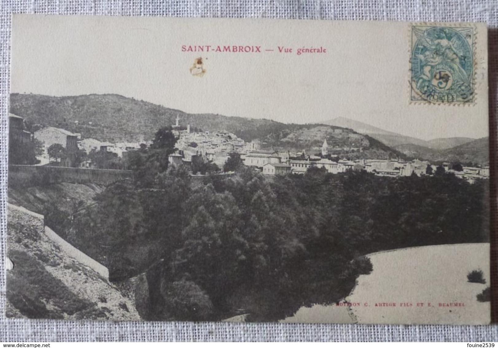SAINT AMBROIX N°  1 - Autres Communes