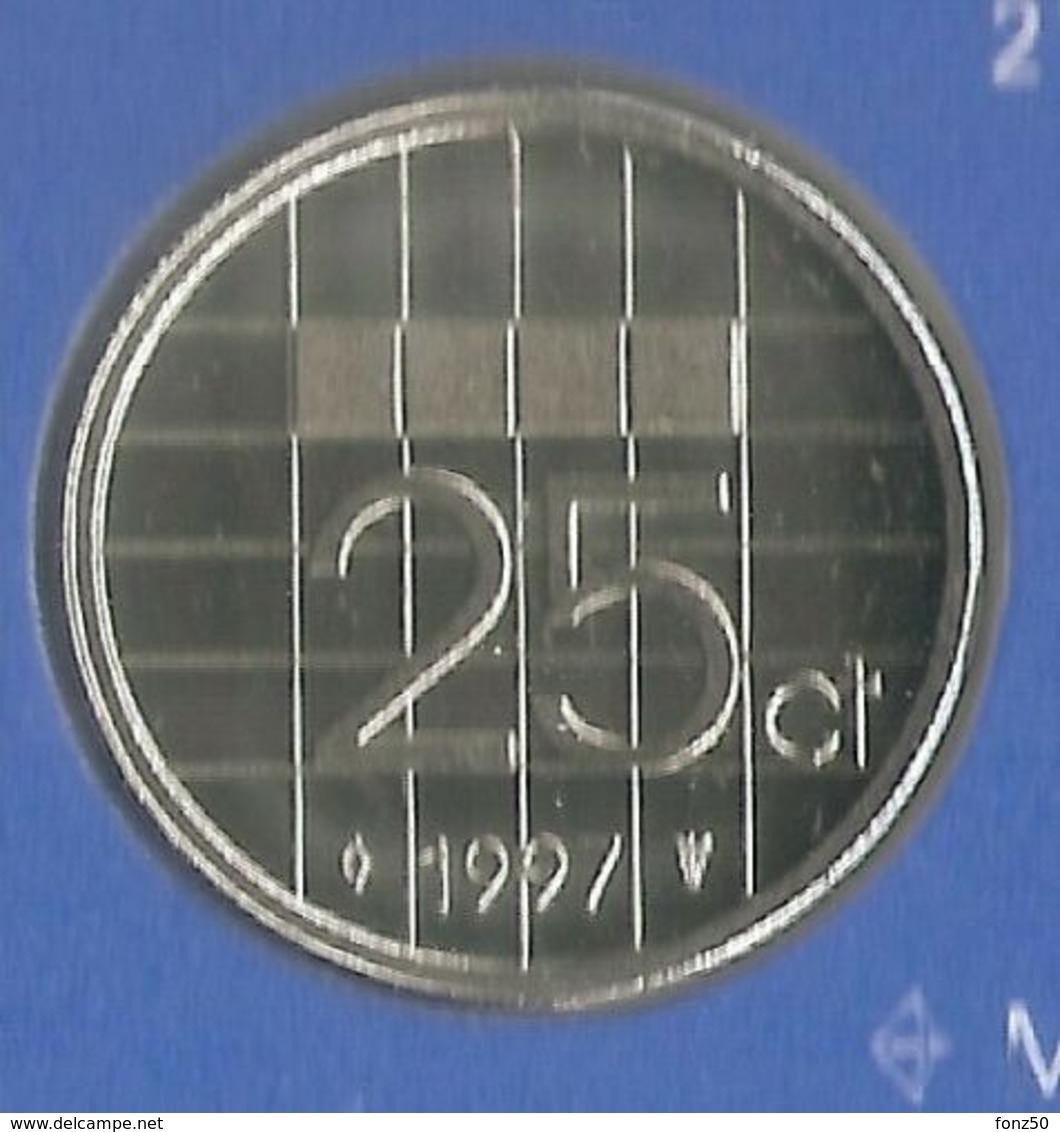 1997 * 25 Cent  Uit FDC-SET  * NEDERLAND * - 1980-…: Beatrix