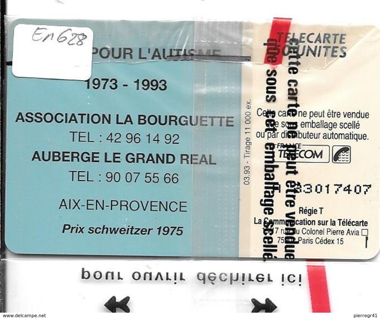 CARTE-PRIVEE-50U-EN628-SO3-03/93-L AUTISME-NSB-TBE  -LUXE - Francia
