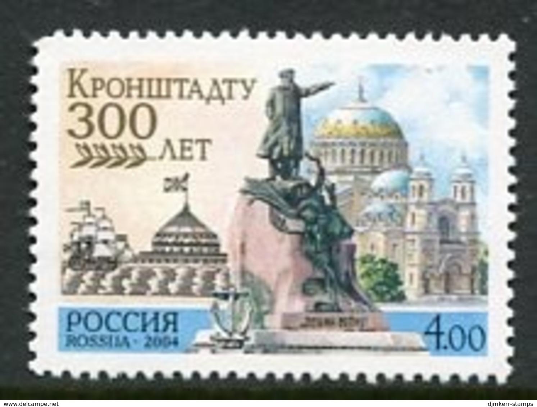 RUSSIA 2004 Tercentenary Of Kronstadt MNH / **.  Michel 1155-66 Zd-B - 1992-.... Föderation