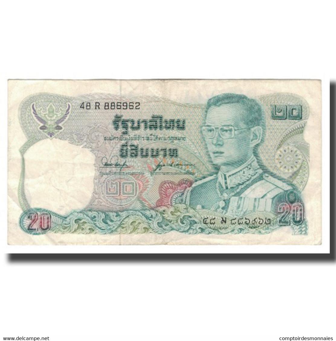 Billet, Thaïlande, 20 Baht, BE2524 (1981), KM:88, TTB+ - Thailand