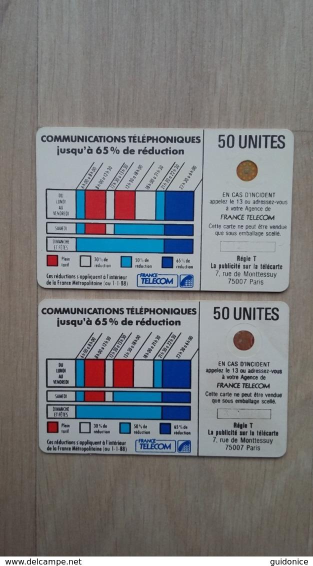 Telefonkarten - Telecarte (Frankreich) - 2 Exemplare - France