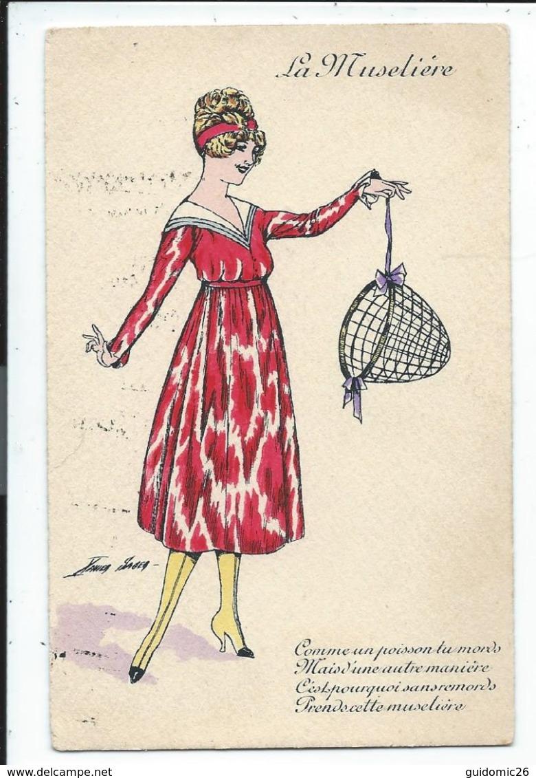 Illustration Signée Sager,la Museliere - Sager, Xavier