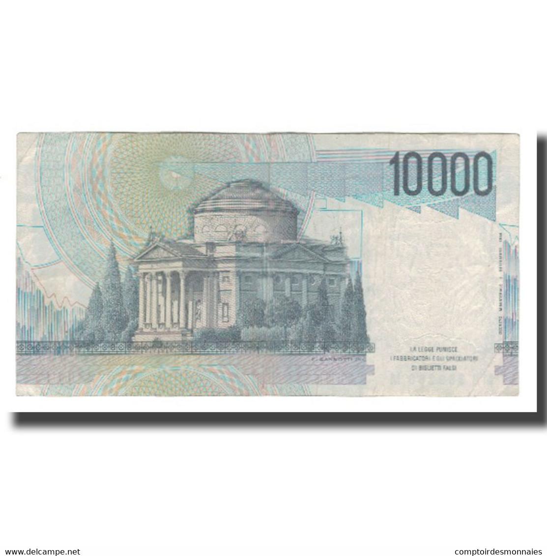 Billet, Italie, 10,000 Lire, D.1984, KM:112a, TTB+ - [ 2] 1946-… : République
