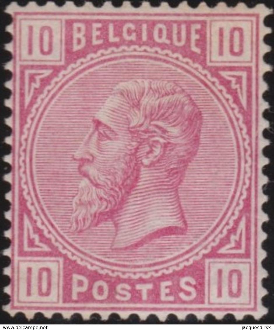 Belgie      .    OBP     .    38      .    *     .    Ongebruikt Met Gom   .   /    .    Neuf Avec Gomme * - 1883 Leopold II