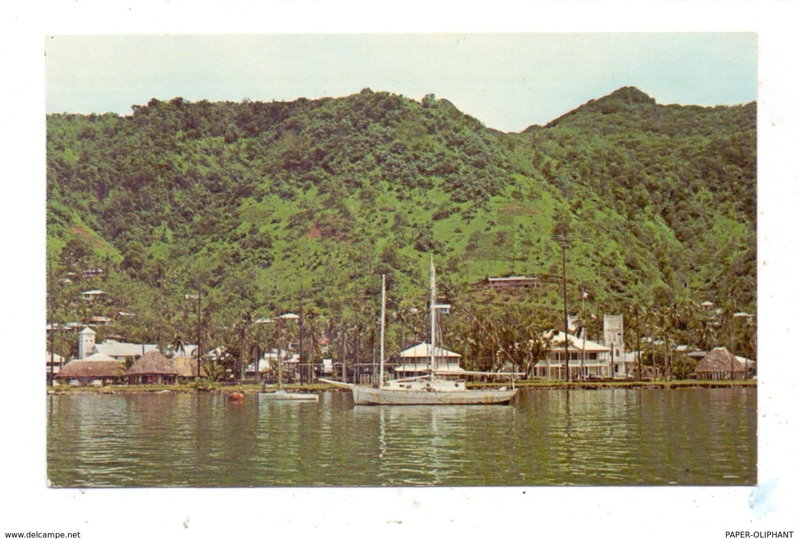 AMERICAN SAMOA - PAGO PAGO Harbor Waterfront - Samoa Americana