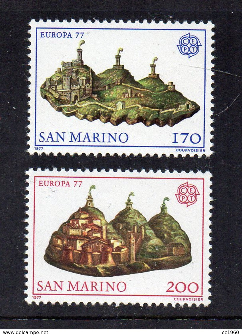 SAN MARINO - 1977 - Europa CEPT - 2 Valori - Nuovi ** - (FDC18196) - Nuovi