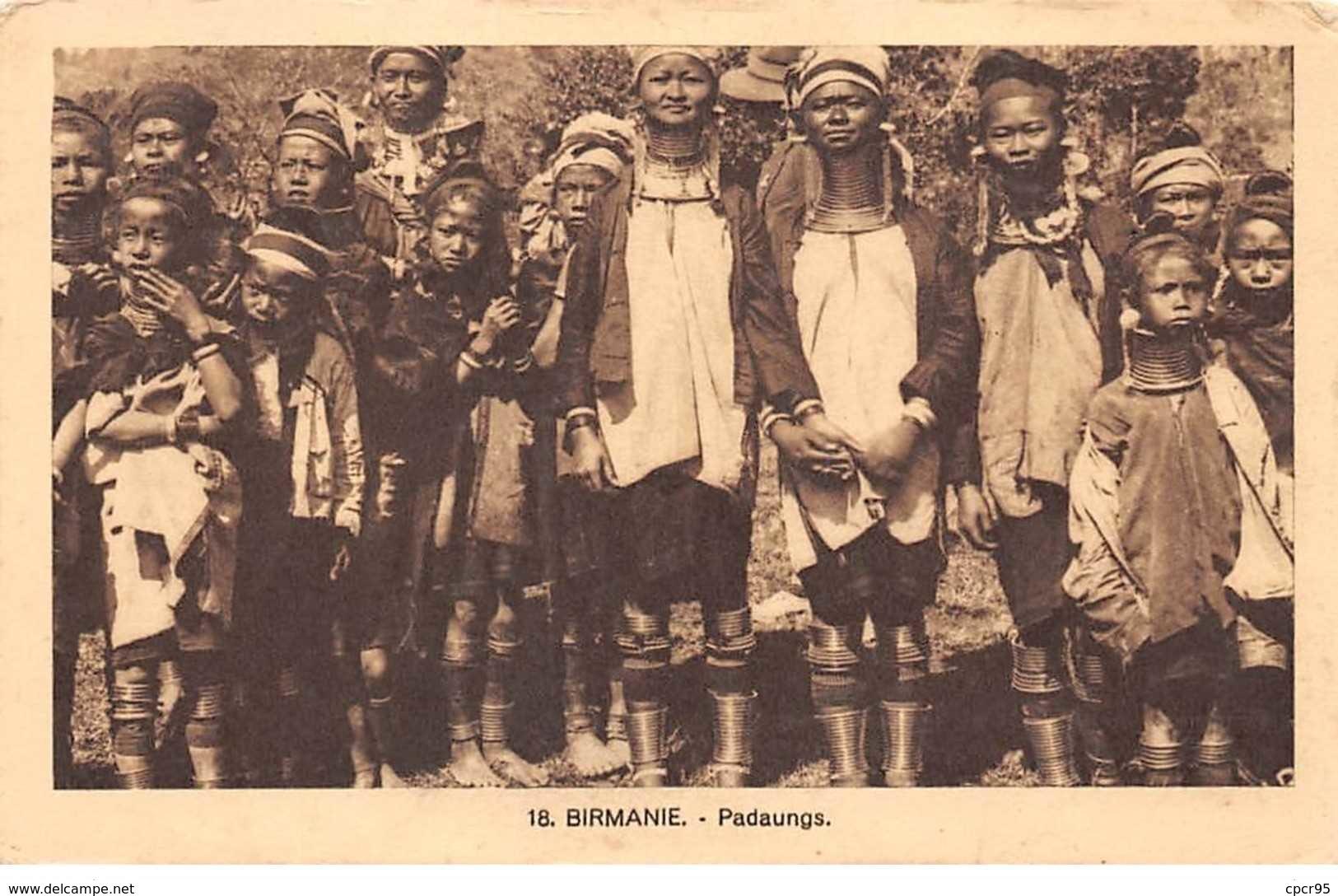 Myanmar - N°61493 - BIRMANIE - Padaungs - Soeurs De St-Joseph De L'apparition N°18 - Myanmar (Birma)