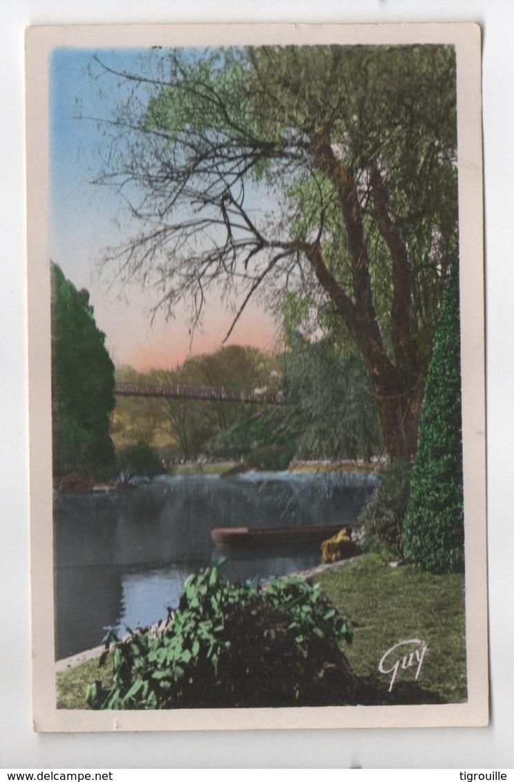 CP27167 - Paris - Les Buttes Chaumont – Un Coi Du Parc - Ecrite - Autres Monuments, édifices
