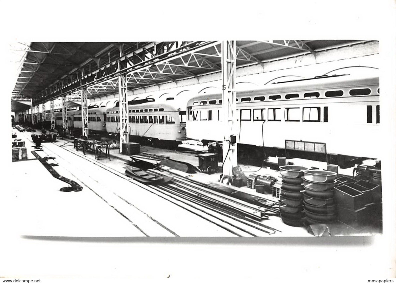Tram - Atelier - Trains