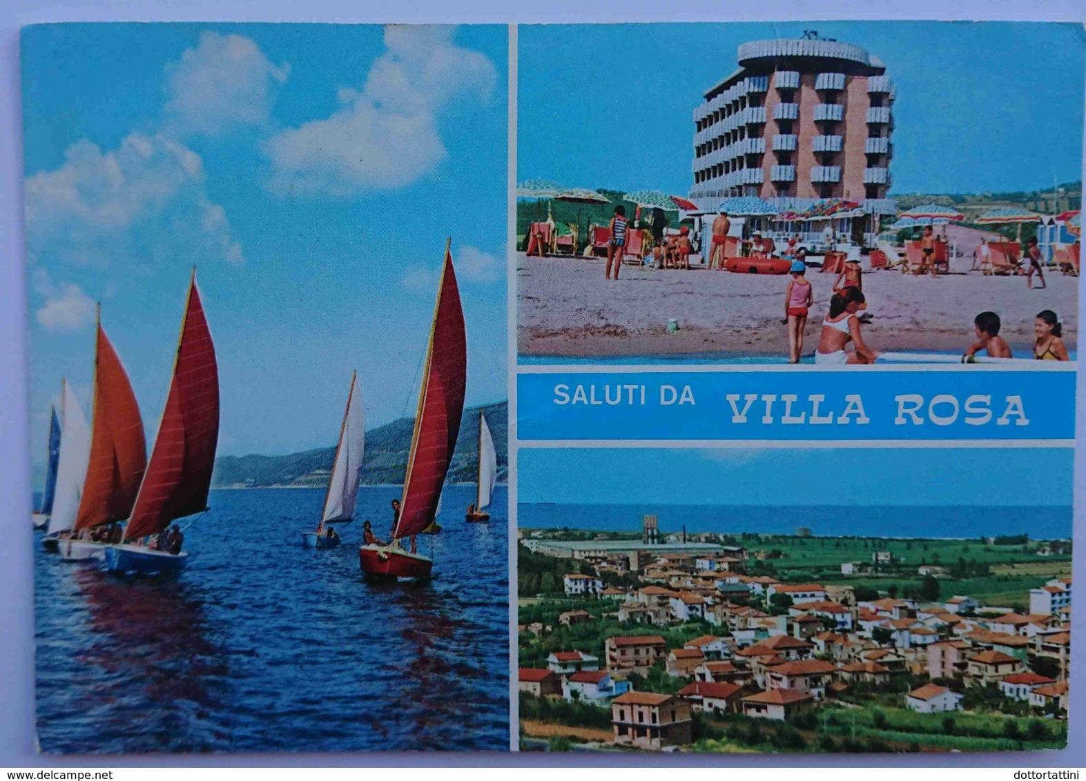 VILLA ROSA (Teramo) - Saluti Da Villa Rosa (Martinsicuro) -- Vg - Teramo