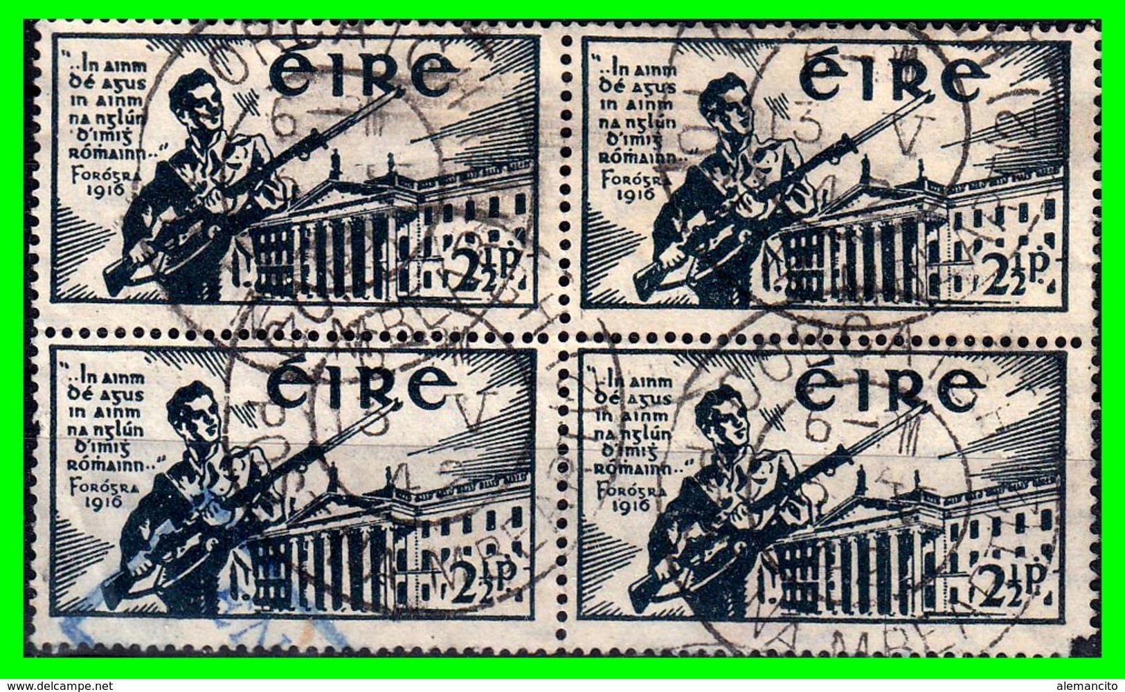 "IRLANDA - (IRELAND) – ( EIRE ) SELLO AÑO 1922-23 ""VOLUNTEER SOLDIE AND DUBLIN FRANCISPOST OFFICE "" - 1922 Gobierno Provisional"