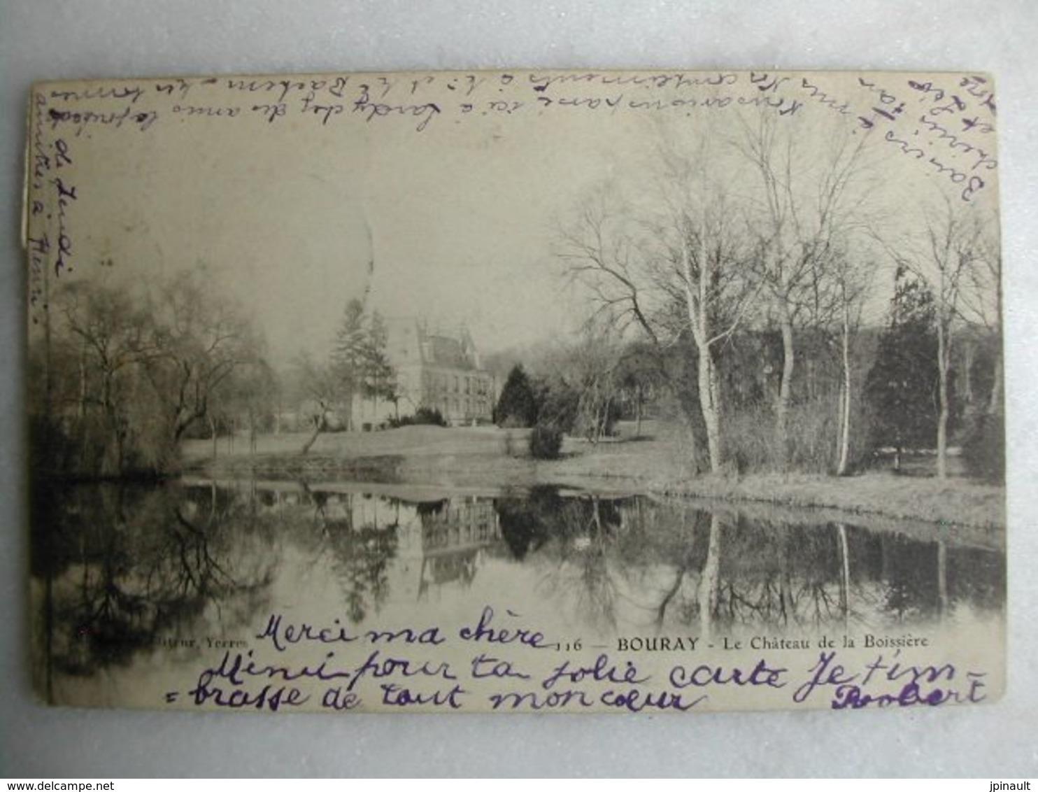 BOURAY - Le Château De La Boissière - Other Municipalities