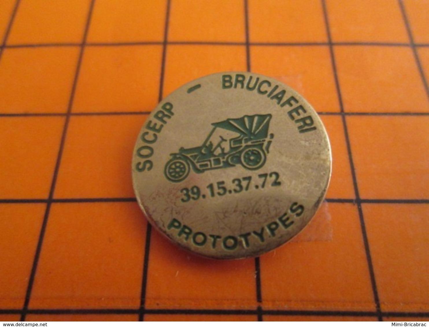 1419 Pin's Pins : BEAU ET RARE : Thème AUTOMOBILES / PROTOTYPES SOCERP BRUCIAFERI - Andere