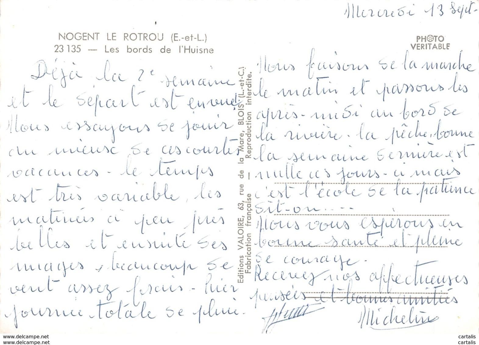 28-NOGENT LE ROTROU-N°C-3660-C/0129 - Nogent Le Rotrou