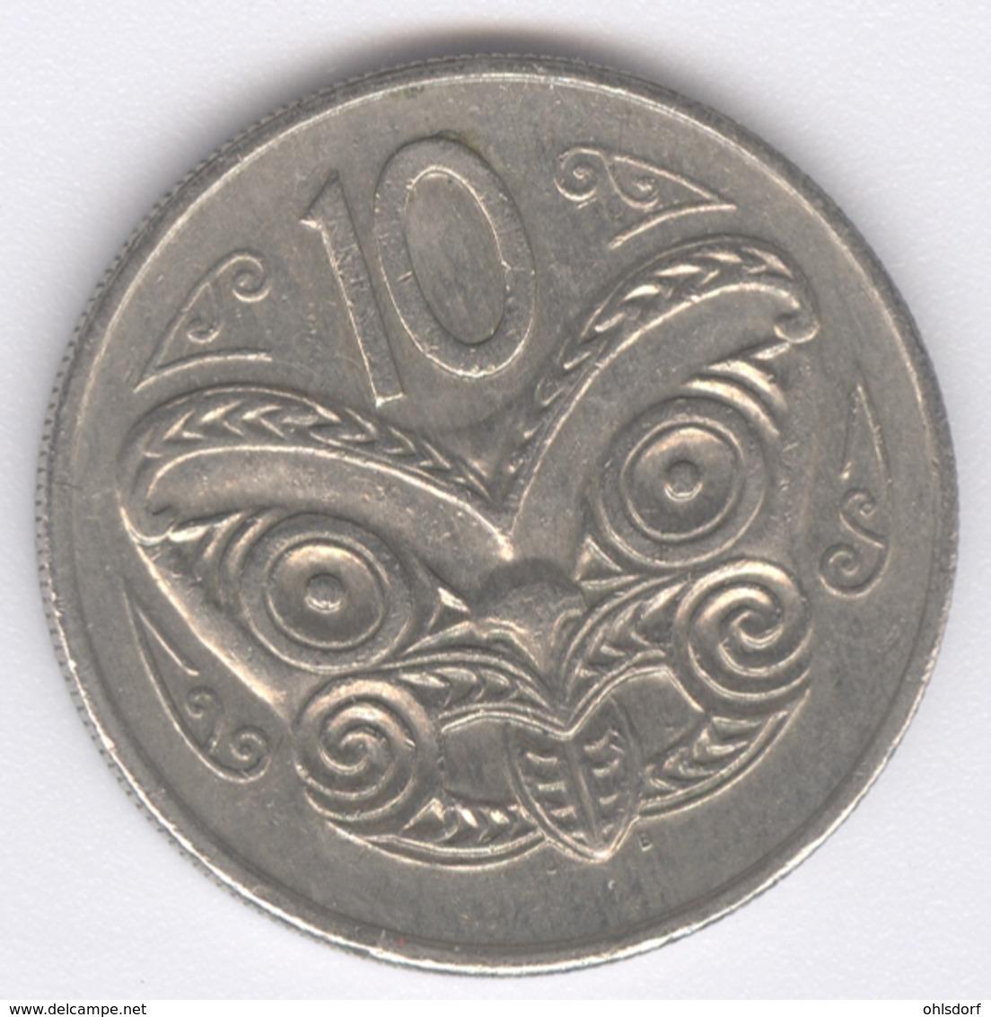 NEW ZEALAND 1982: 10 Cents, KM 41 - New Zealand