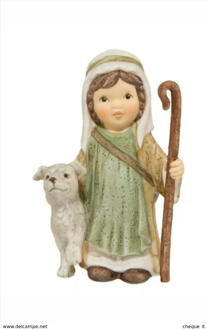 Set Statuine Presepe Porcellana Goebel - Nina & Marco - Nuove In Imballo Originale - Kerstkribben