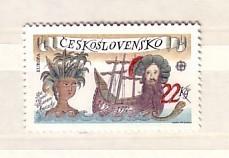 Tchecoslovaquie/Tschechoslowakei/Czechoslovakia  -1992  EUROPA   1v.-MNH - Europa-CEPT