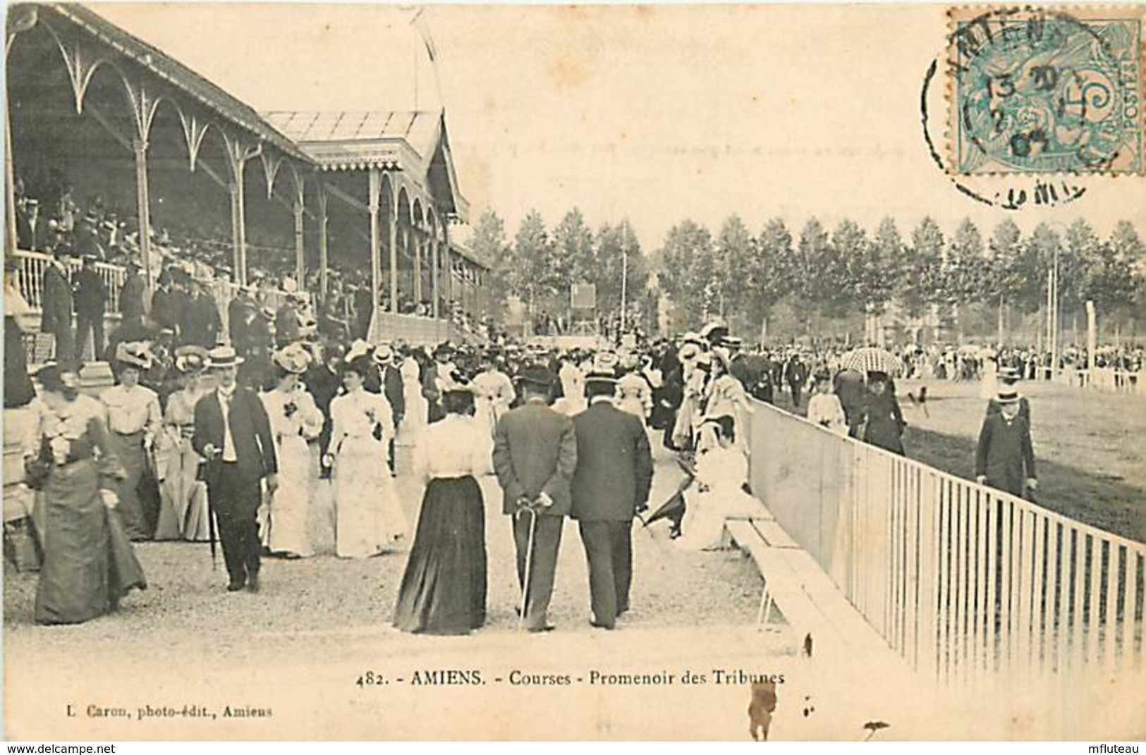 80* AMIENS  Courses  -  Tribunes           MA97,0051 - Amiens