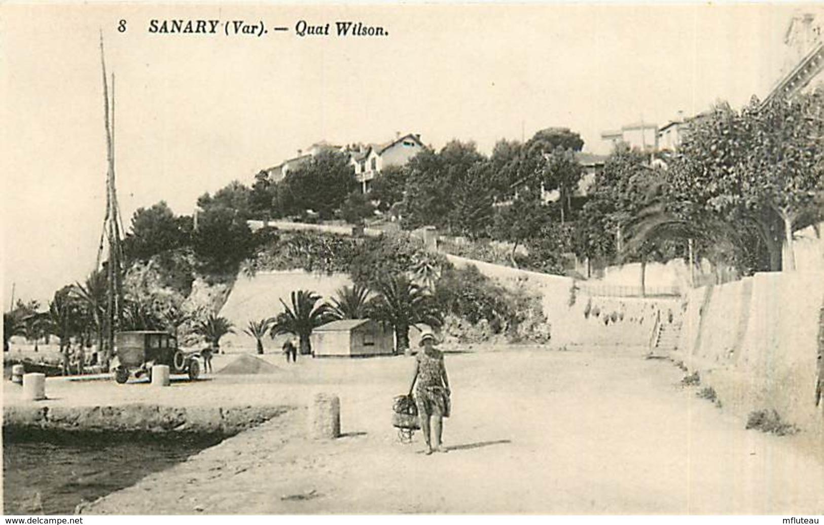 83* SANARY  Quai Wilson                    MA97,0431 - Sanary-sur-Mer
