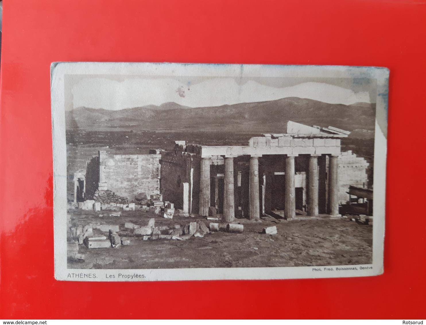 Athenes - Les Propylees - Grecia
