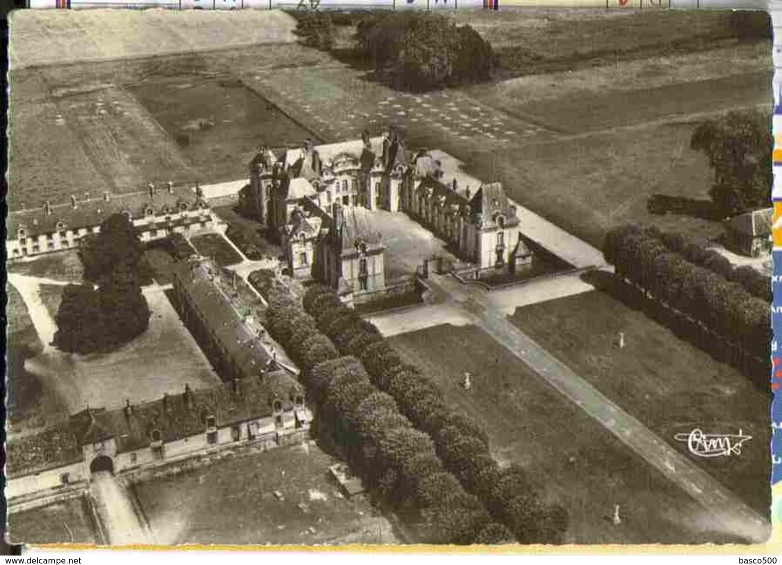YERRES - Vue Aérienne Peu Courante Sur Le Chateau De Grosbois - Yerres