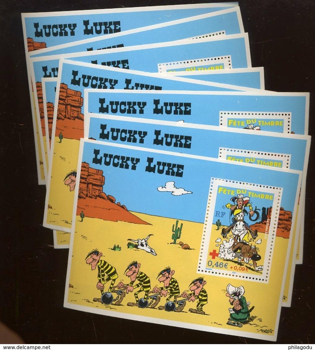 8 Blocs ** Lucky Luke. ça Fait Beaucoup De Dalton ? - Unused Stamps