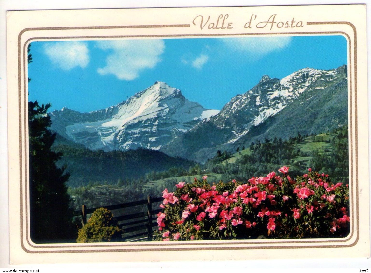La Grivola (Valle D'Aosta). Panorama. VG. - Italy