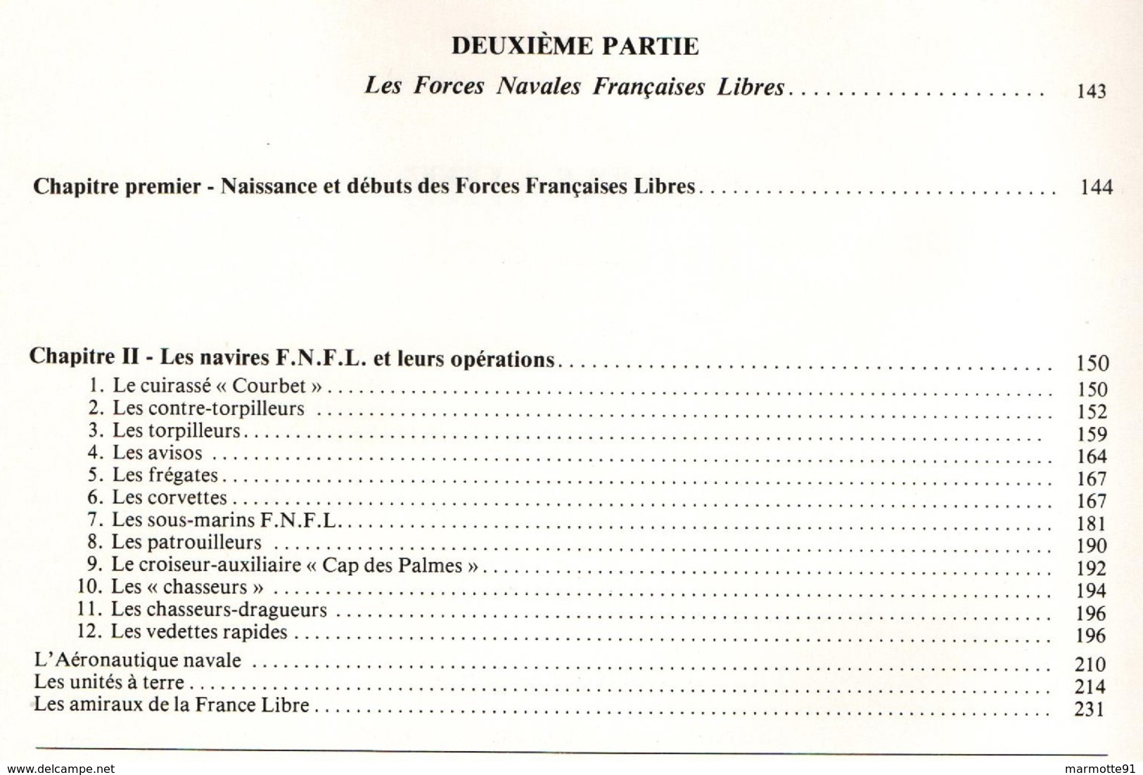 LA MARINE FRANCAISE AU COMBAT 1939 1945 DU SABORDAGE A LA VICTOIRE  TOME 2 - 1939-45