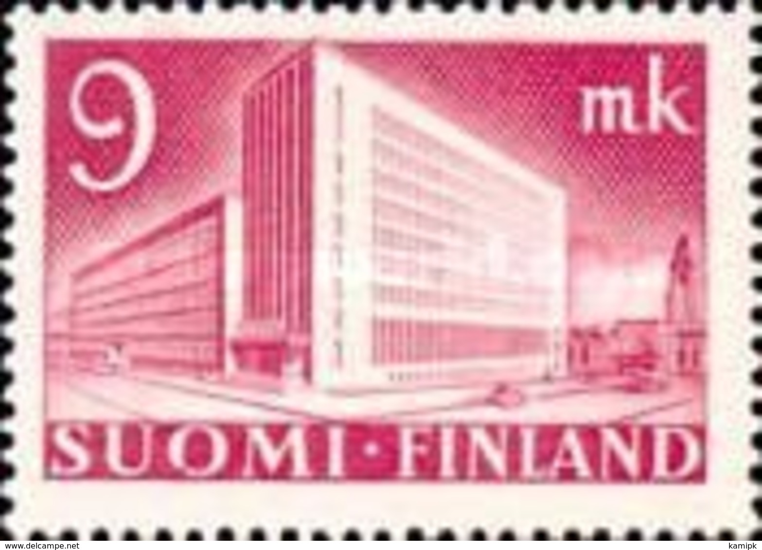 Finland - Central Post Office In Helsinki -1942 - Used Stamps