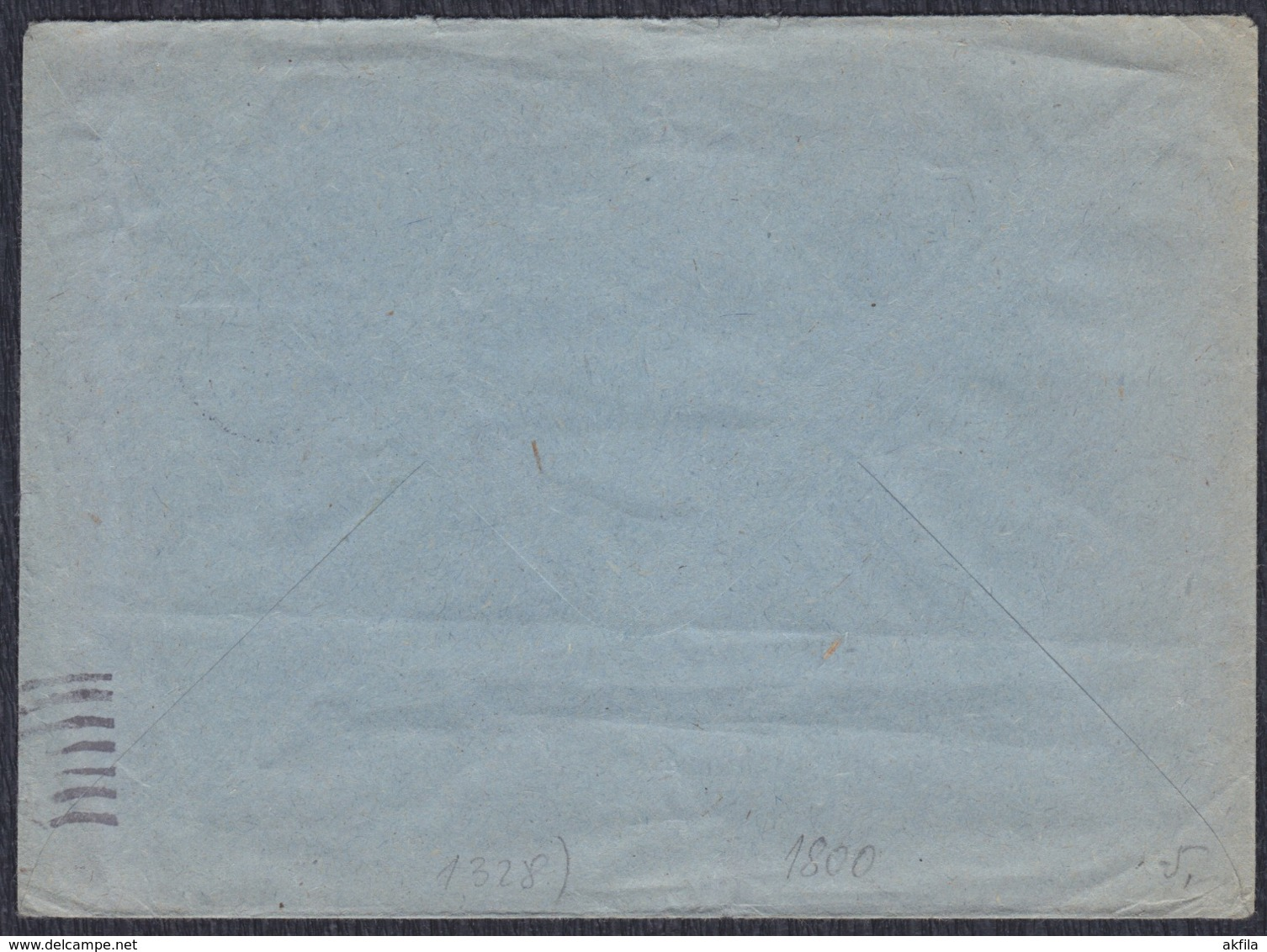 Yugoslavia 1961 Letter Sent From Gospic To Beograd - Briefe U. Dokumente
