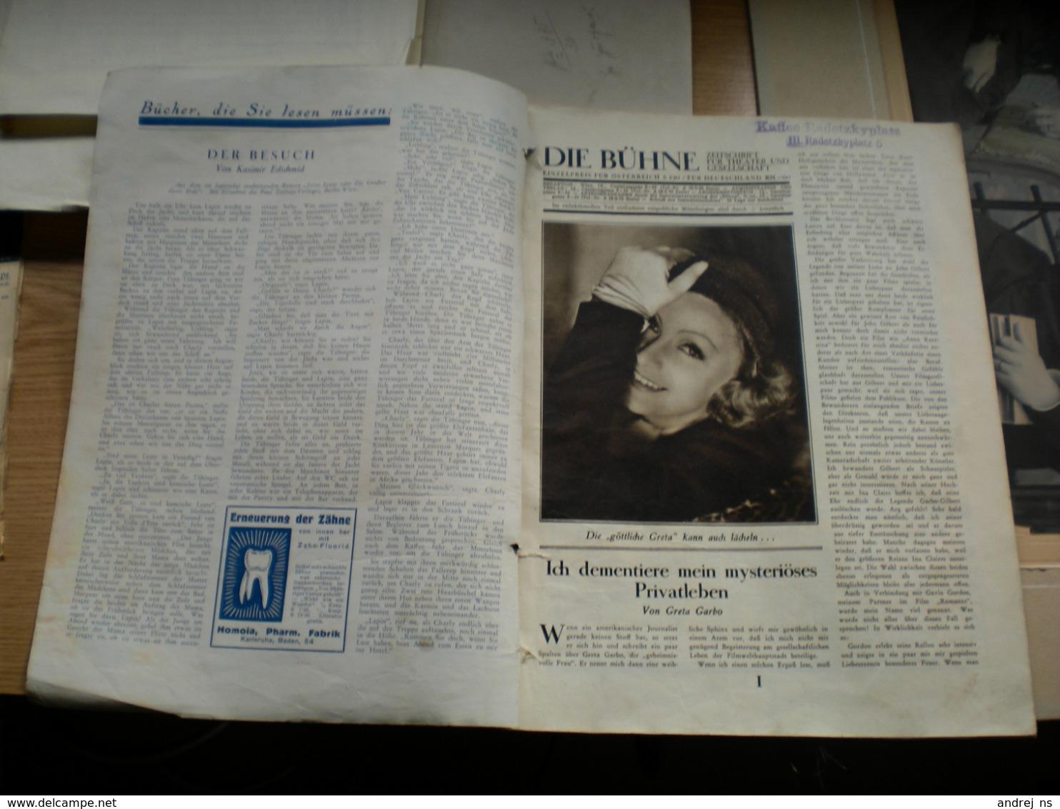 Buhne Wien 1931 Conrad Veidt Als Metternich 62 Pages - Boeken, Tijdschriften, Stripverhalen