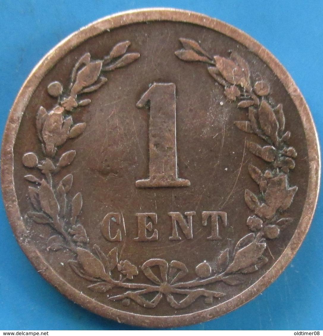 PAYS-BAS,  1 Cent Lion Couronné 1901, Utrecht, TB - [ 2] 1795-1814 : Protectorat Français & Napoléonien